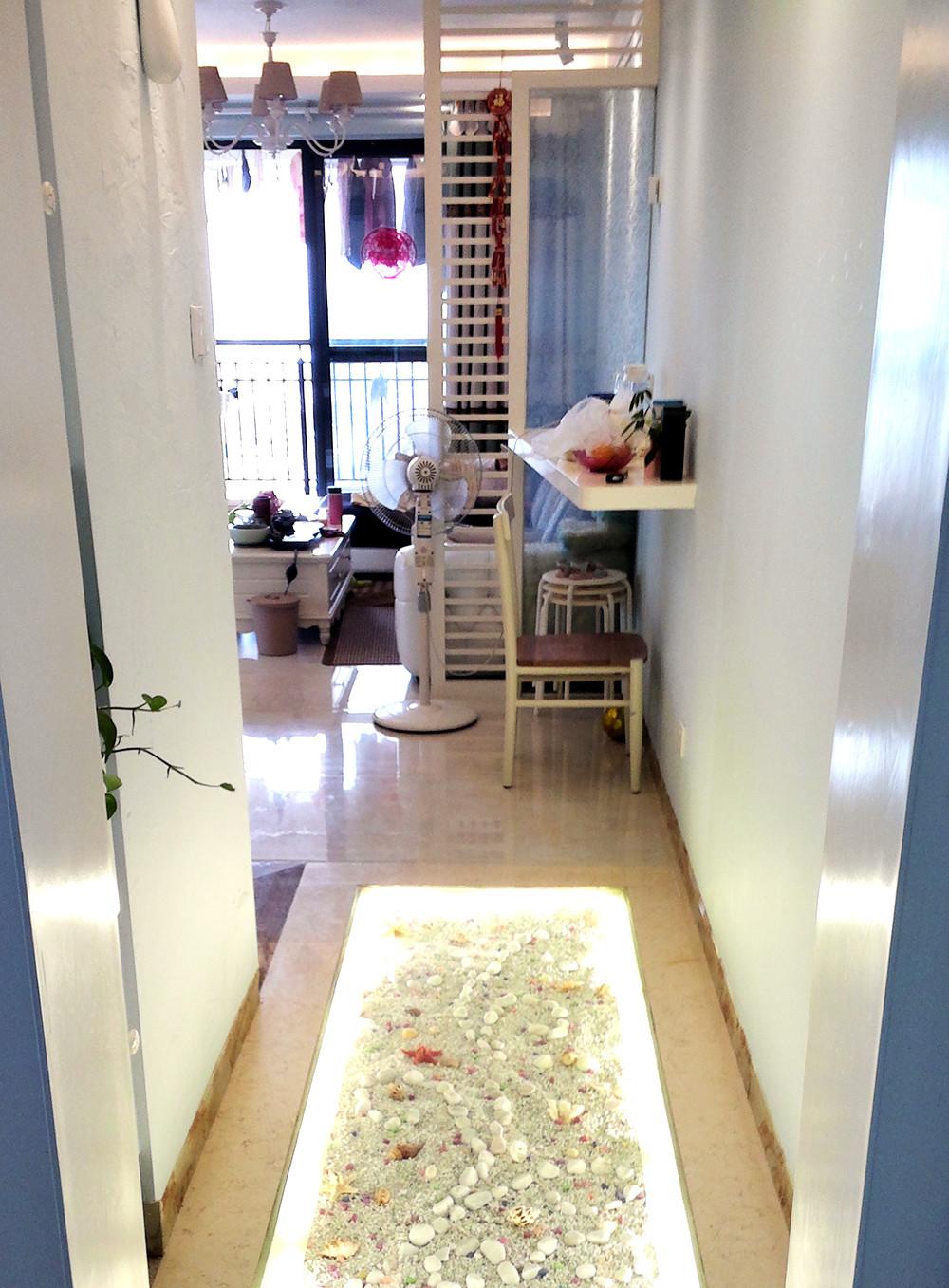 二居室混搭风格装修吧台图片