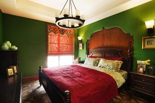 大户型美式乡村家卧室效果图