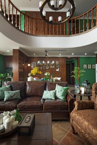 大户型美式乡村家沙发图片