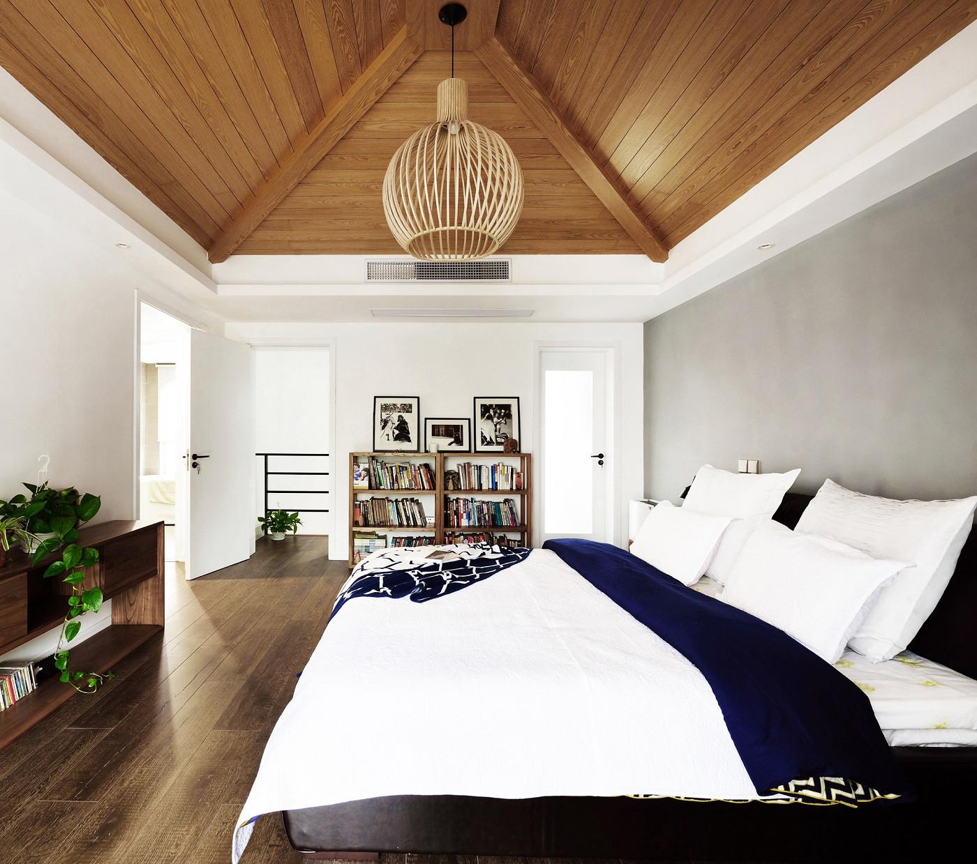 北欧风别墅装修卧室设计图