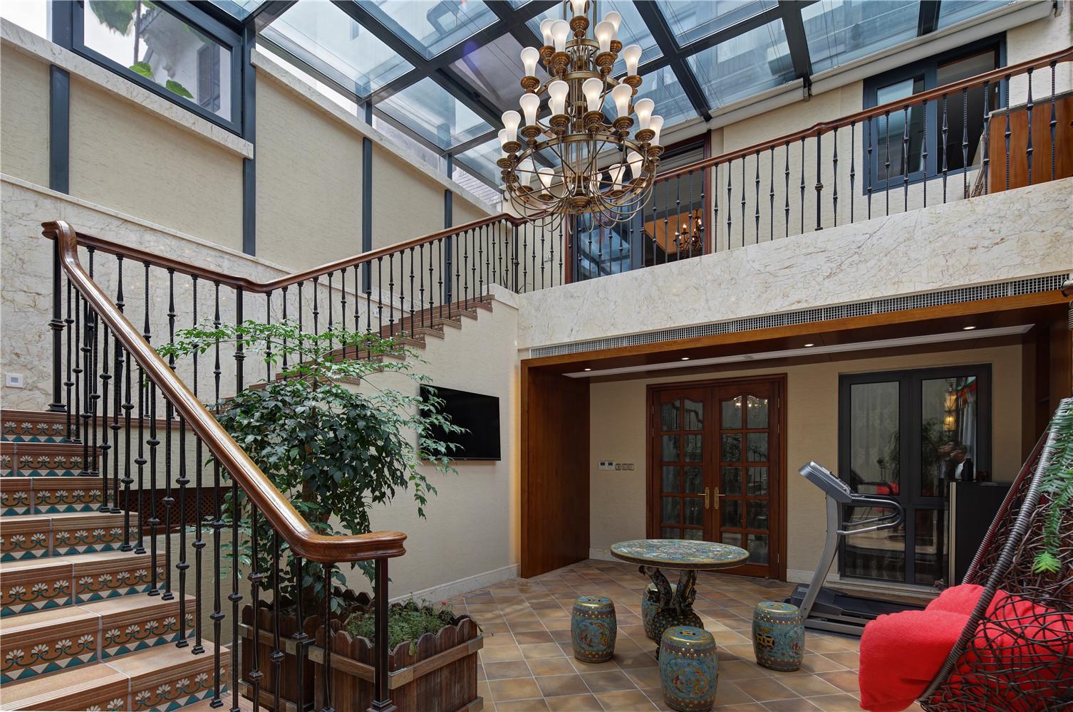 新古典别墅装修阳光房设计图