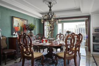 别墅混搭装修餐厅设计图