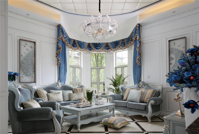 法式风格别墅装修沙发图片