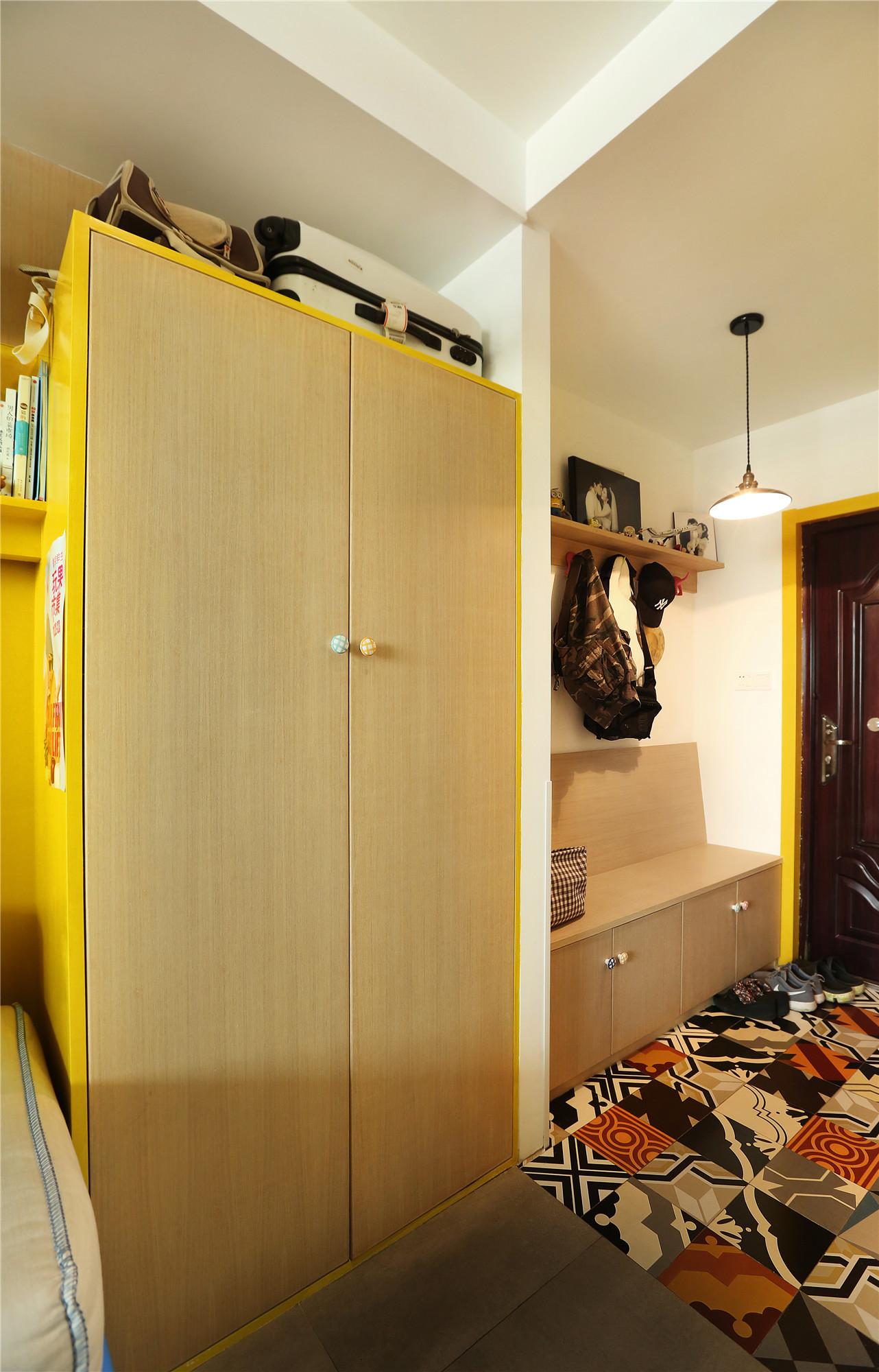 30平蜗居设计衣柜图片