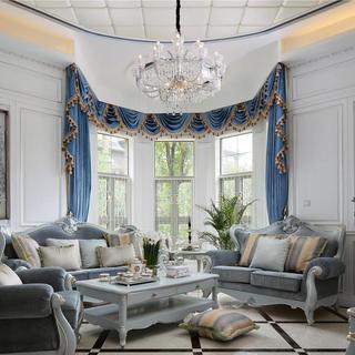 法式风格别墅装修 轻奢优雅