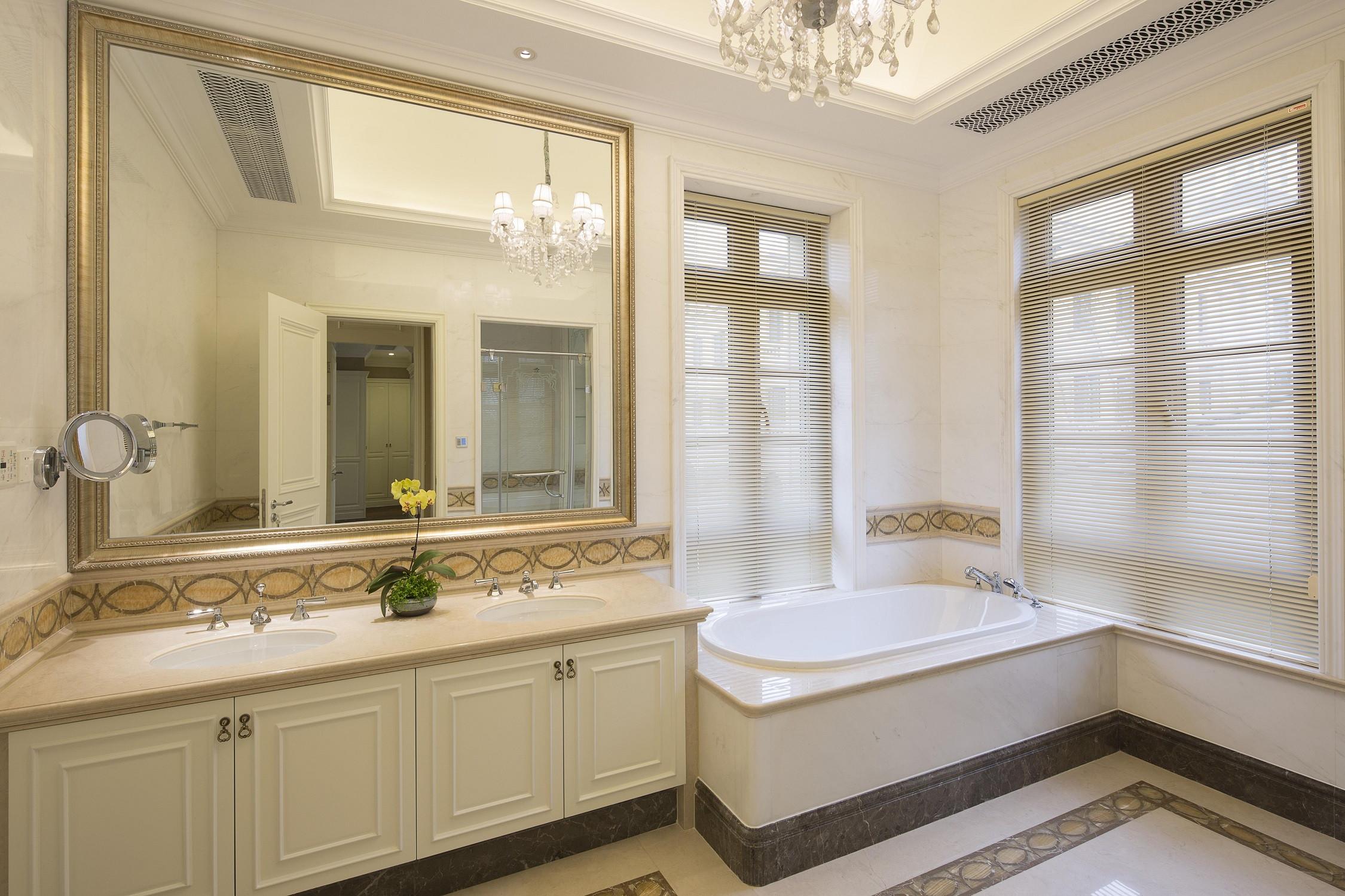 法式别墅装修卫生间设计图
