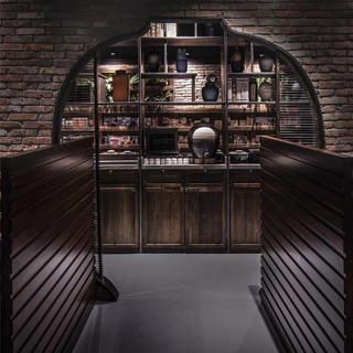 古典优雅的餐馆装修设计图