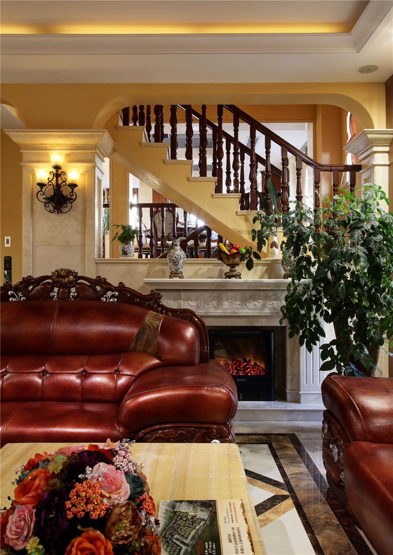 美式风格别墅装修沙发图片