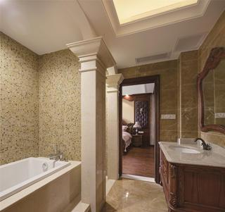美式风格别墅装修卫生间设计图