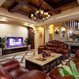 美式風格別墅裝修 莊重大氣