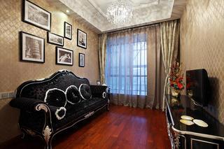 大户型新古典风格装修起居室欣赏图
