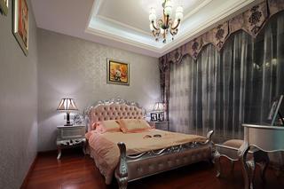 大户型新古典风格装修客卧布置图