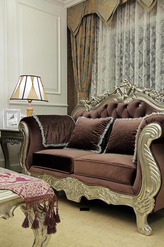 大户型新古典风格装修沙发图片