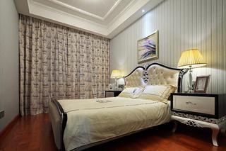 大户型新古典风格装修次卧设计图