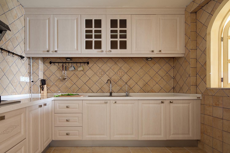 复式混搭装修厨房设计图