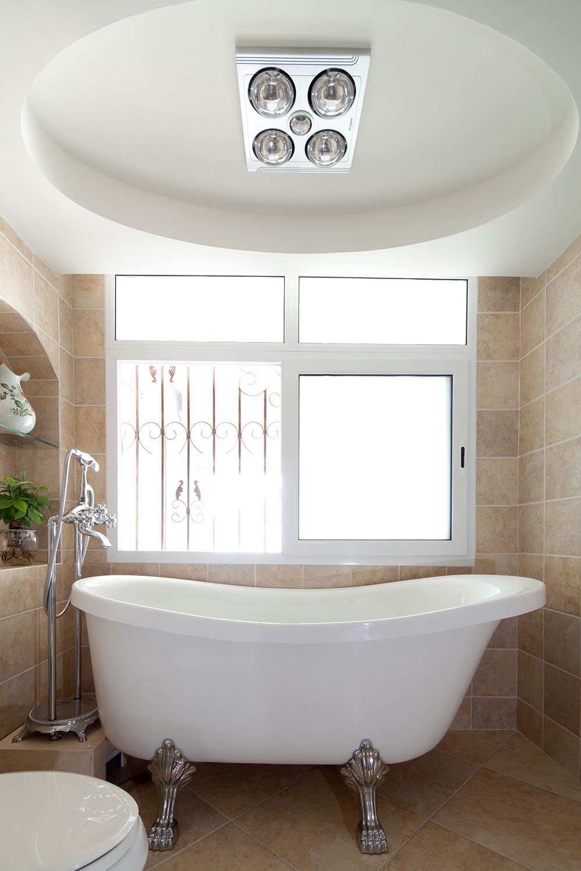 复式混搭装修浴缸图片