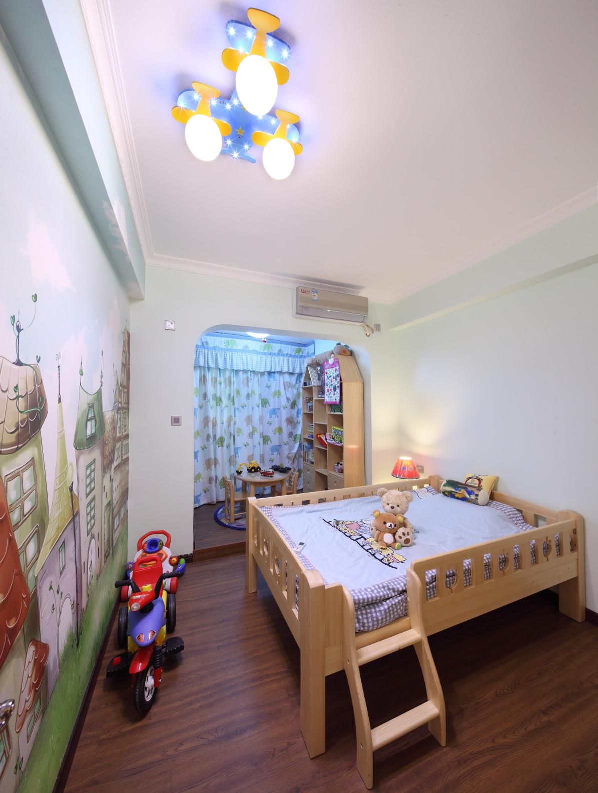 欧式田园三居儿童房设计图