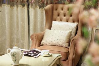 欧式田园三居沙发椅图片