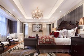 现代欧式风格别墅装修卧室吊顶