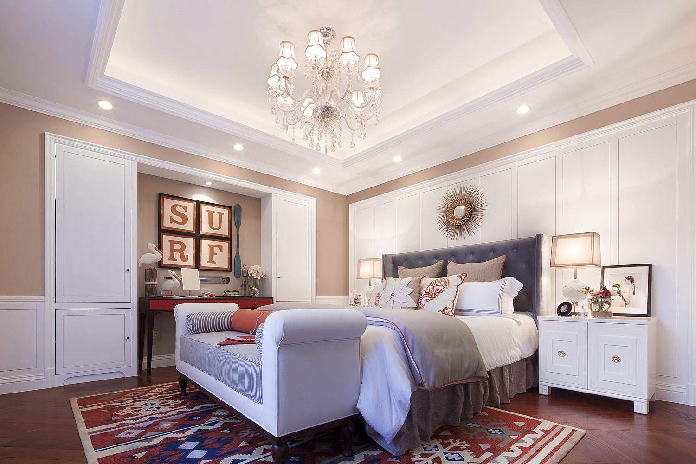 简约美式装修卧室吊灯设计