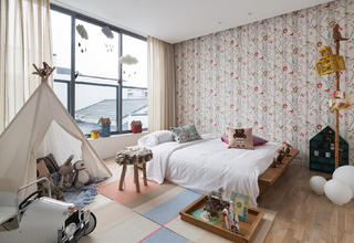 北欧风别墅装修儿童房搭配图