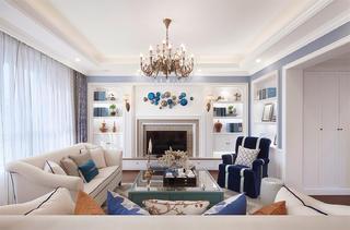 简约美式装修客厅效果图
