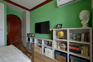 80㎡二居室之家电视墙图片