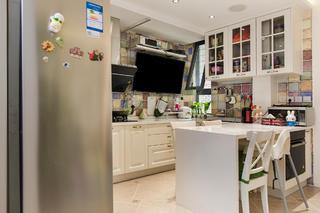 二居室现代美式家厨房设计图
