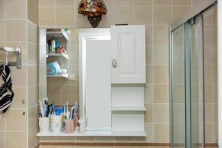 二居室现代美式家收纳柜图片
