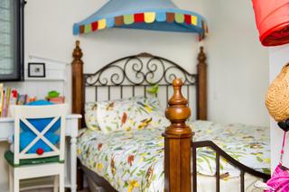 二居室现代美式家儿童房设计图