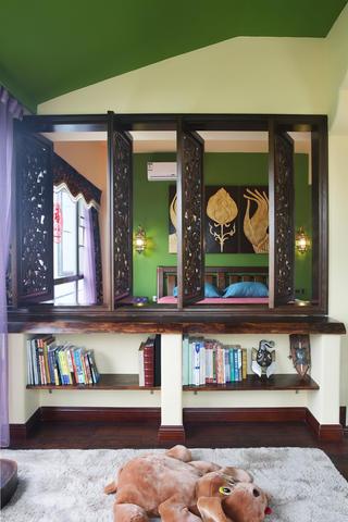 小户型东南亚风格装修窗户设计
