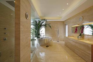 现代风格别墅装修卫生间设计图