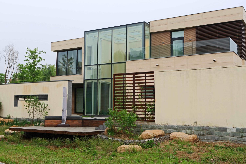 现代风格别墅装修外墙设计图