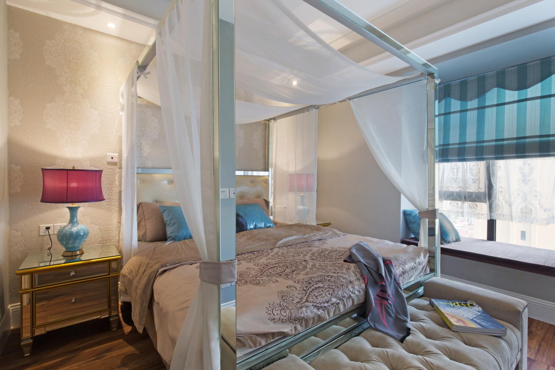 127平时尚都市风格家卧室设计图