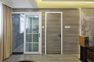 简约三居装修隐形门设计