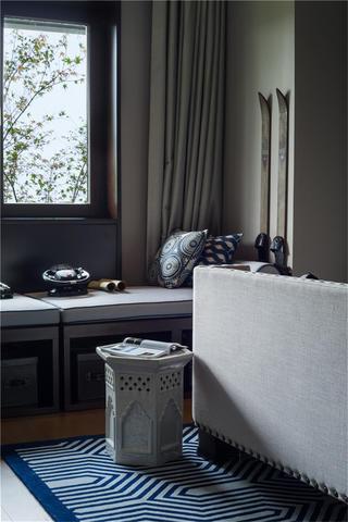 中式別墅裝修臥室一角