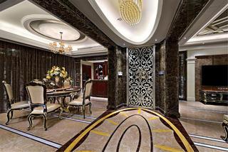 大户型新古典装修门厅设计图