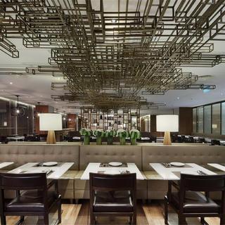 港式茶餐厅装修效果图 文艺格调