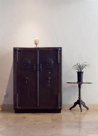 中式风格别墅装修玄关柜图片