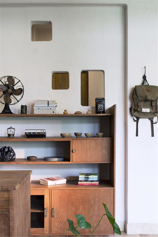 中式风格别墅装修储物架图片