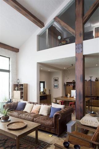中式风格别墅装修沙发图片