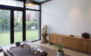 中式风格别墅装修茶室设计图