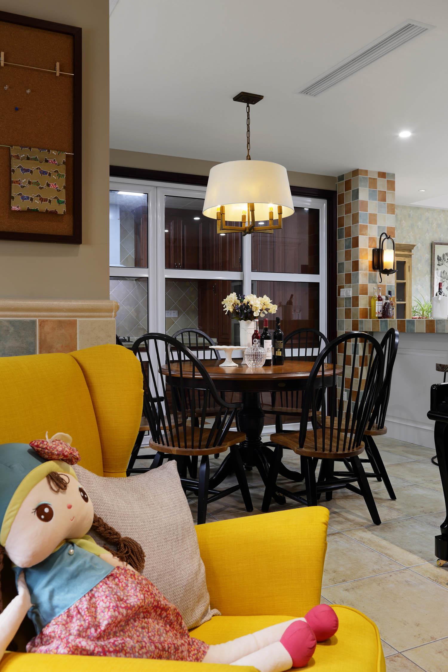 美式别墅装修沙发椅图片