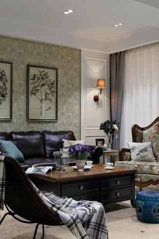 美式别墅装修设计沙发图片