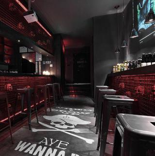 酒吧餐饮空间装修设计 神秘诡异