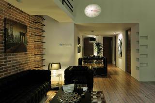 现代简约loft风格装修沙发图片