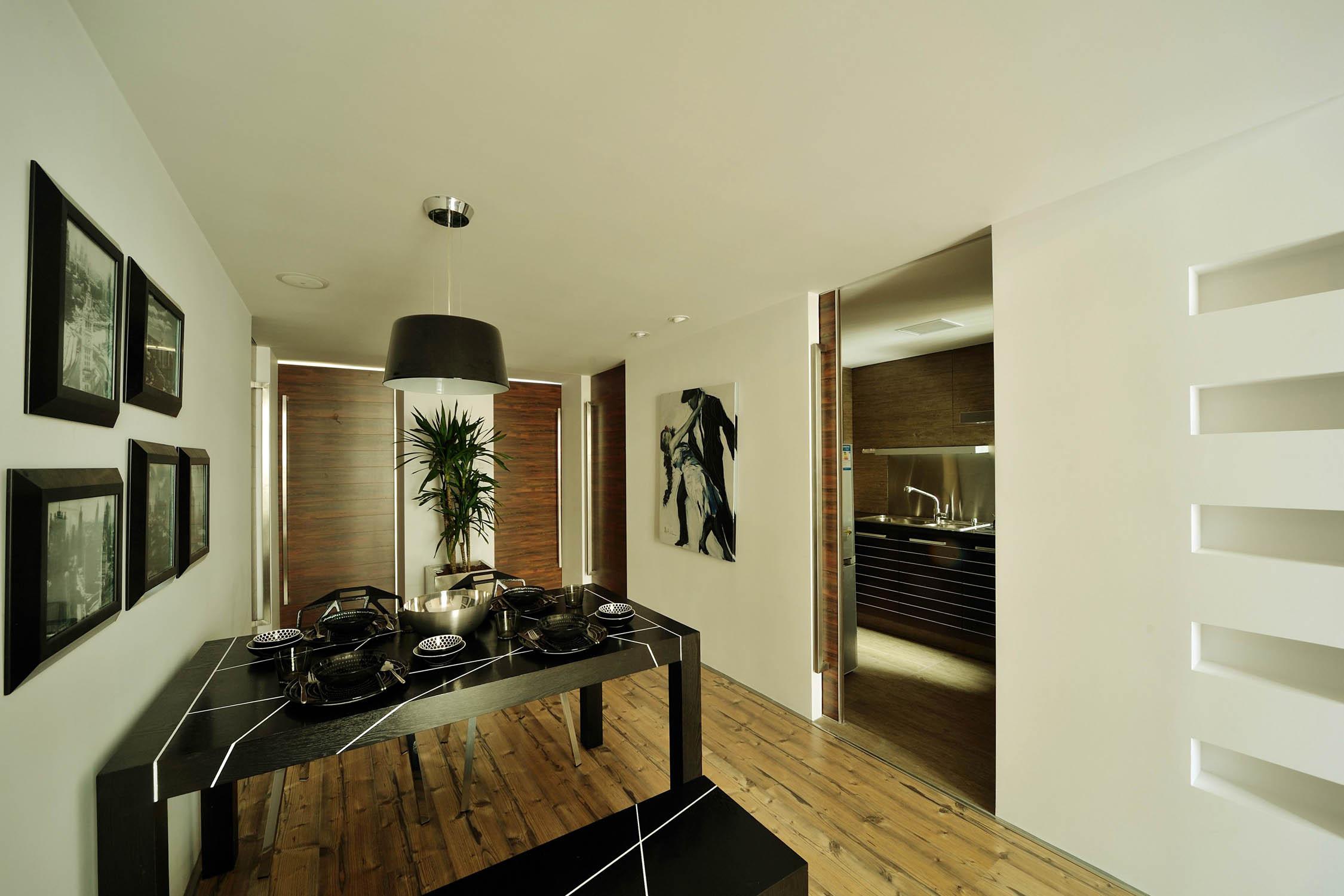 现代简约loft风格装修吊灯图片