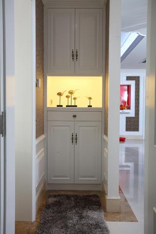 新古典三居装修鞋柜图片