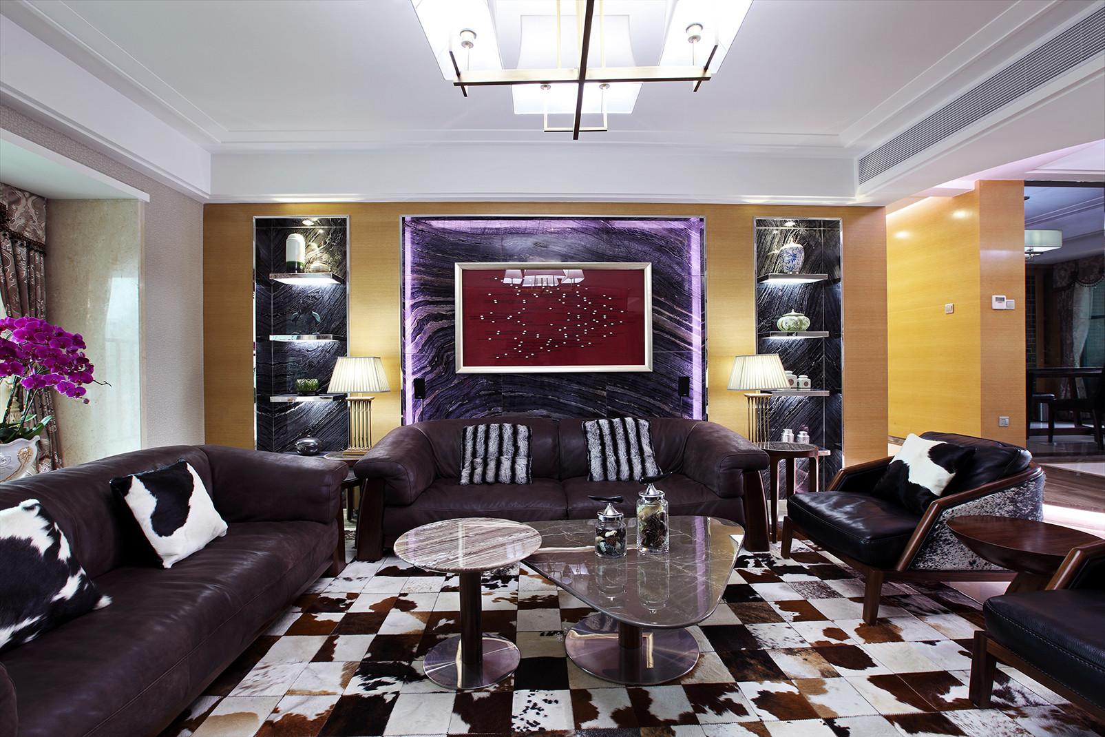 现代都市风格之家沙发背景墙图片