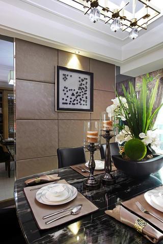 现代都市风格之家餐具摆件